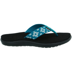 Teva Voya Sandalen Dames, maya check deep lake